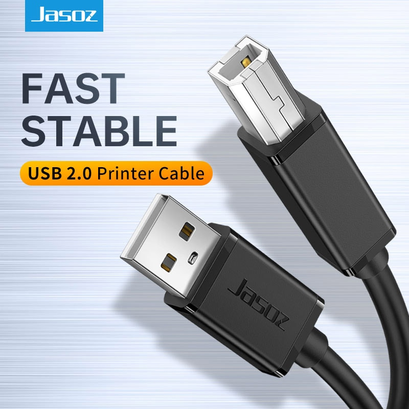 usb 3 0 a male am to usb 3 0 b type male bm usb3 0 cable 0 3m 0 6m 1m 1 5m 1 8m 3m 5m 1ft 2ft 3ft 5ft 6ft 10ft 30cm 1 3 5 meters Jasoz USB 2.0 Printer Cable USB Type A to B Male to Male Print Cable 5m/8m/10m For PC Camera Epson HP Canon Printer USB Printer