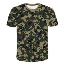 New outdoor children boys quick-drying children's T-shirt tactical camouflage short-sleeved round ne