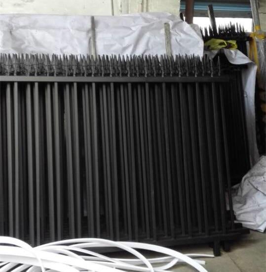 Cerca de ferro extravagante de hench para jardim/fábrica/quintal/casa residencial