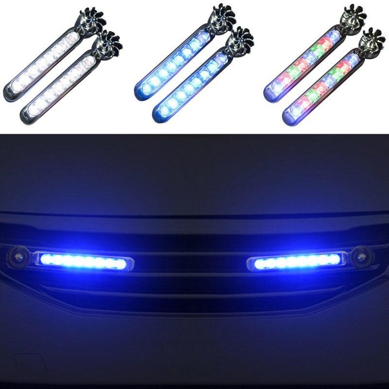 2pc LED Wind Powered Car Daytime Running Auto Decorative Lamp for Infiniti FX35 FX37 EX25 G37 G35 G25 Q50 QX50 EX37 FX45 G20