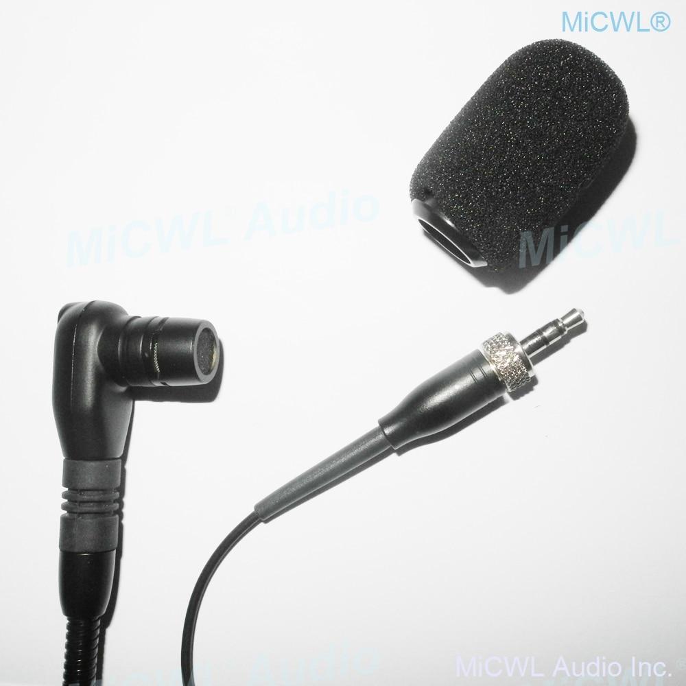 Beta98 Instrument Recording Gooseneck Microphone for Sennheiser Wireless BeltPack Transmitter 3m cable 3.5mm Lock plug enlarge