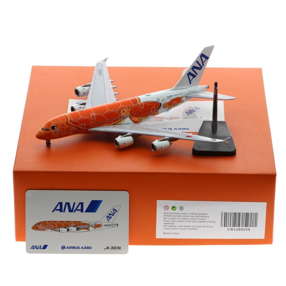 1:400 طائرة من خليط معدني JC suites EW4388008 ANA airport