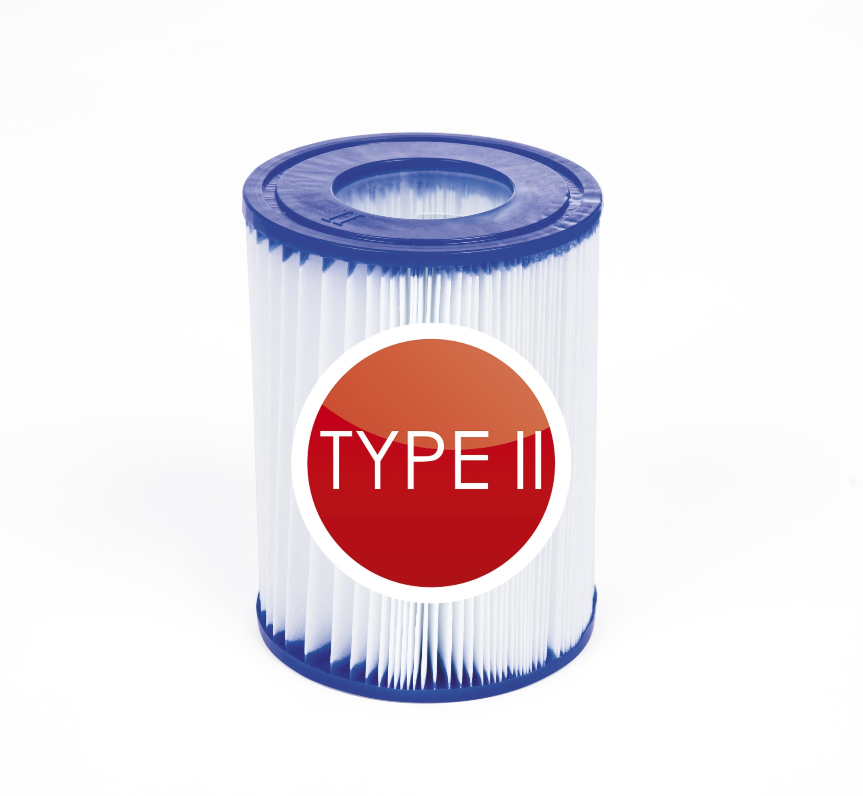 Оригинальный фильтр для воды Bestway 58094, 2 шт./упак., картридж для фильтра типа 530/800 галлонов, Hepa фильтр для Intex A B