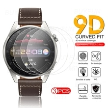3PCS Full Cover Protective Glass For Huawei Watch 3 Pro Hauwei GT2 GT 2 46MM 46 MM Smartwatch Access
