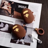 luxury fashion silicone wireless bluetooth earphone case for airpods 12 charging box 3d earphone protective cover for airpods