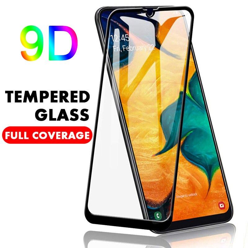 Cubierta 9D vidrio templado para Samsung Galaxy J7 Prime 2 J2 J5 vidrio Protector de pantalla para Samsung S10E S6 S7 M10 M20 M30