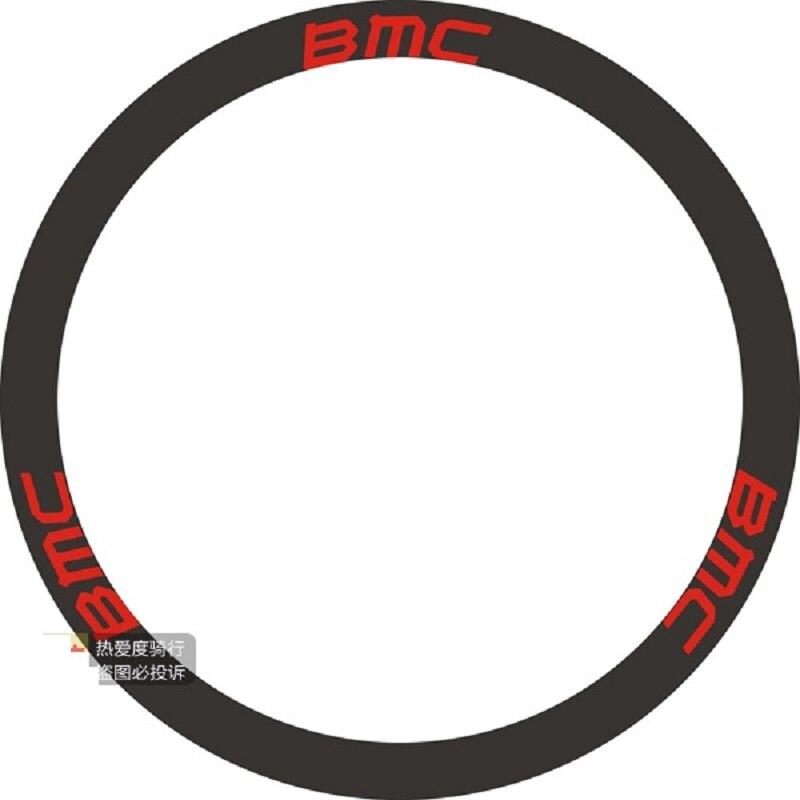 Calcomanías para bicicleta aplicables para la etiqueta de la rueda de la bicicleta de montaña de juego de ruedas carretera borde 50 cuchillo de carbón calcomanías adhesivas para 2 ruedas