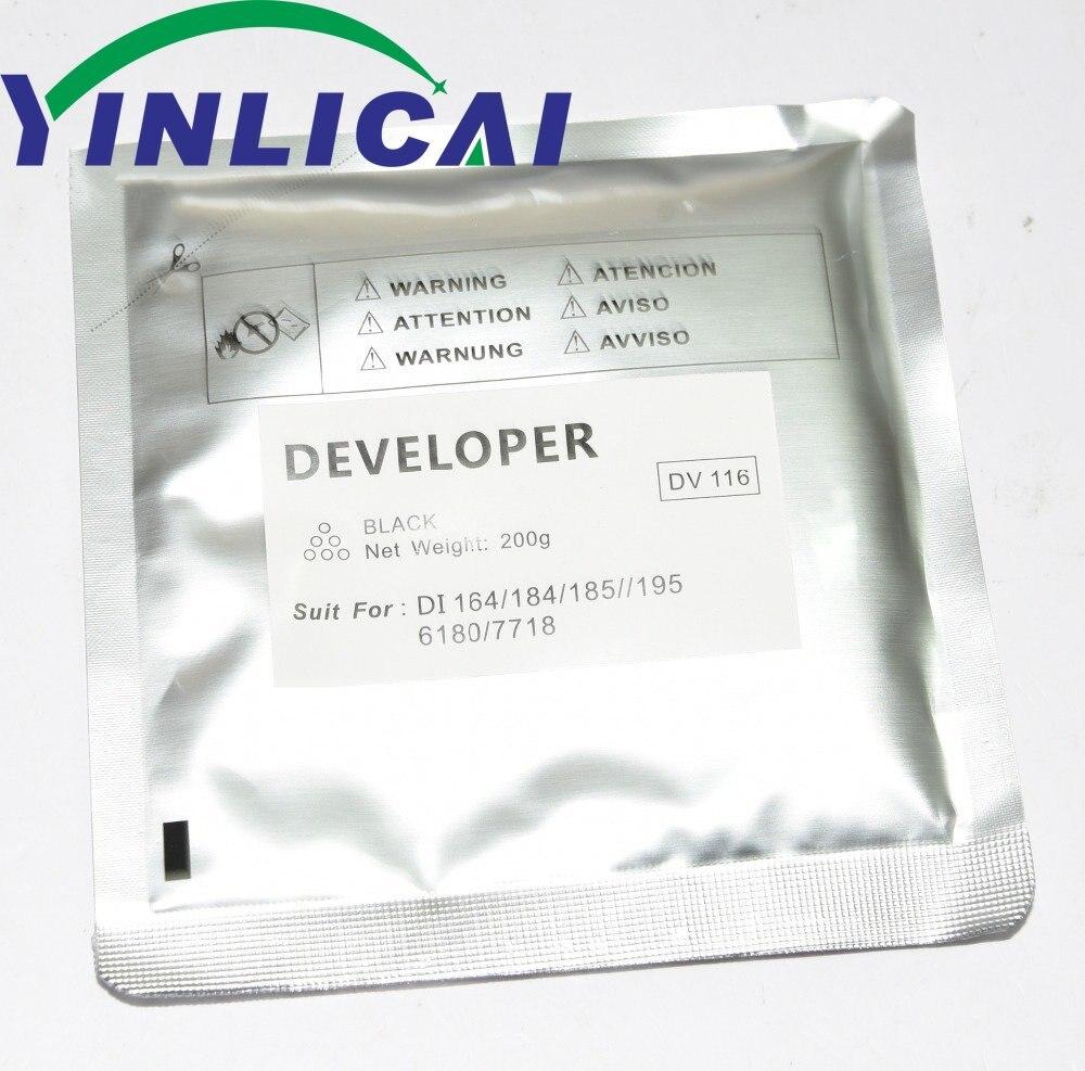 Desenvolvedor para Konica pó de Ferro Compatível Novo Minolta Bizhub 164 184 7718 195 215 235 7723 1pcs Dv116