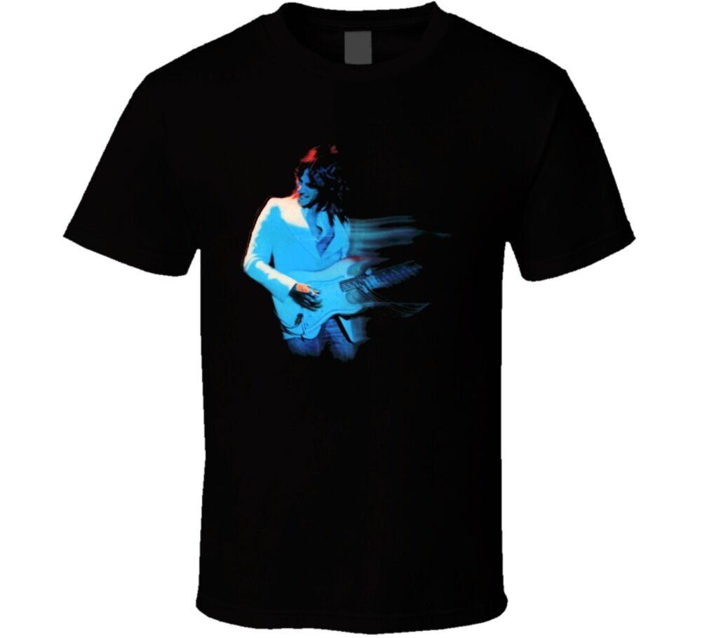 Camiseta clásica música rockstar guitarra Jeff Beck