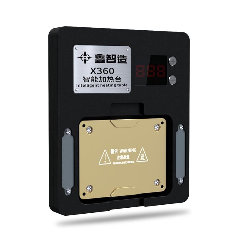 Promo XINZHIZAO X360 Heating Platform 50-260 Regulate The Temperature Layering Lamination Tin planting Lattice iPhone X XS MAX 12 PRO