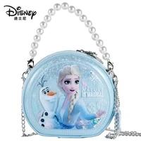 2021 new disney frozen elsa princess child messenger handbag female fashion cartoon bag girls baby anime princess girls wallets