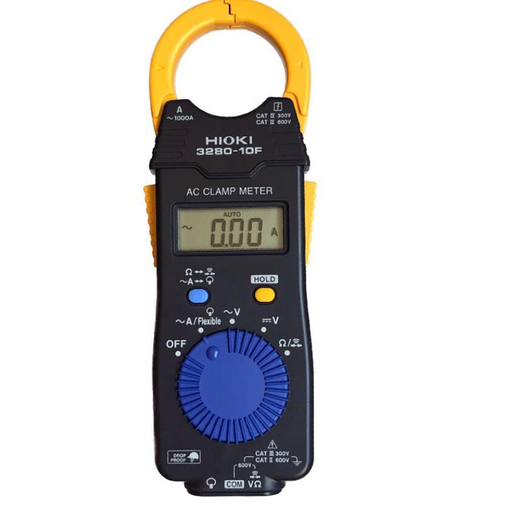 HIOKI 3280-10F يستبدل مقياس المشبك الرقمي 3280-10 1000A AC مع نطاق درجة حرارة تشغيل واسع من 25 درجة مئوية إلى 65 درجة مئوية.