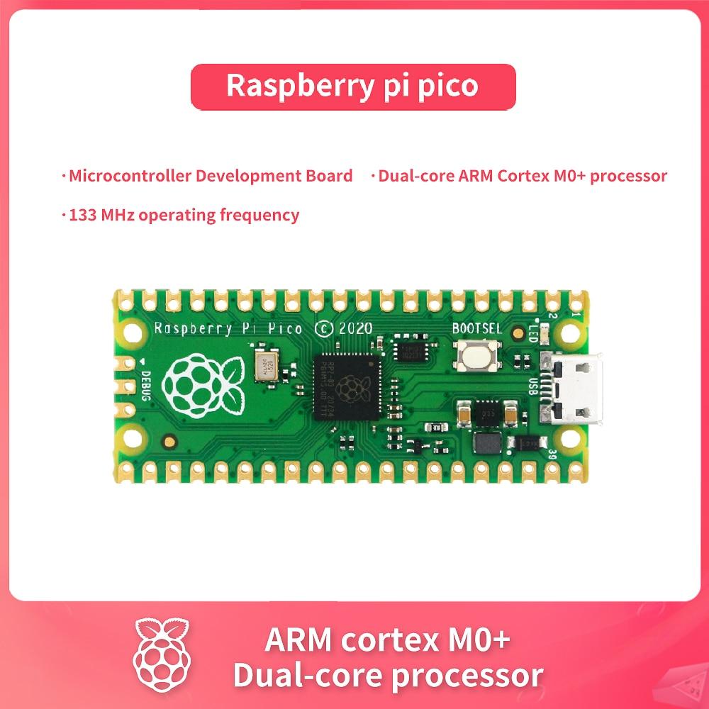 Raspberry Pi Pico Kit Development Board A Low-Cost High-Performance Microcontroller Board Cortex-M0+ Dual-Core ARM Processor