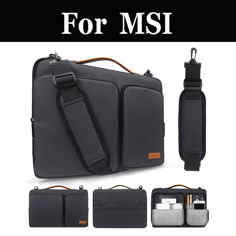 Laptop Tasche Fall Nylon Airbag Schulter Handtasche Computer Für Msi Gl62m 7rdx Gf62vr 7rf Gv62vr 7rf Ge73vr 7rf Ge63 Rgb 9sf Gp63