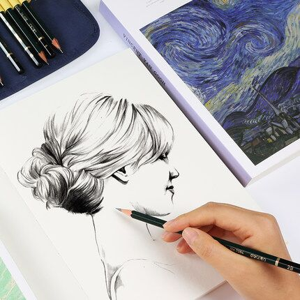 2021 New 120 Sheets Thick Graffiti Sketchbook Blank Paper Child Painting Doodle Book Art Color Lead School Office Stationery enlarge