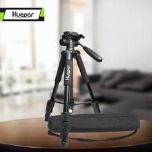 Trépied de caméra de voyage multifonction Huepar 56