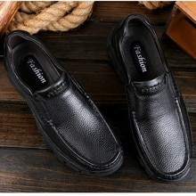 Fashion Hot Sale Mens Shoes Spring Autumn Casual Shoes For Mens Genuine Leather Soft Driving Shoes L