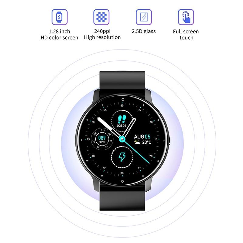 ZL02 Smart Watch Men's Watches ZL02 Smartwatch 2021 Heart rate Sleep Monitor Sport Watch Women's Wristwatch Smart Bracelet Clock