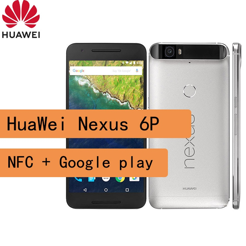 celular HuaWei Nexus 6P smartphone 1440 x 2560 pixels  Snapdragon 810 NFC cellphone