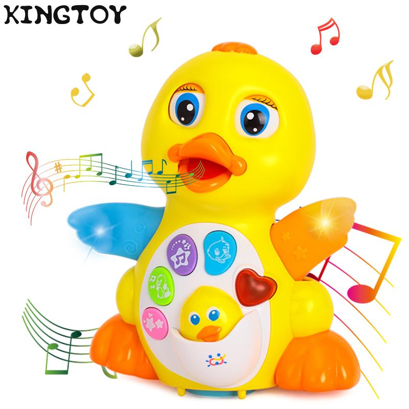 Dancing & Singing Duck Toy Musical Talking Toy Learning Educational Toy Infant  Electronic Pet Toys  Dancing 64134