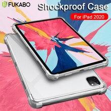 For iPad Air 3 2 1 Clear Shockproof Case 9.7 inch Funda iPad Pro 12.9 Case Mini 5 4 3 2 Soft TPU Sil