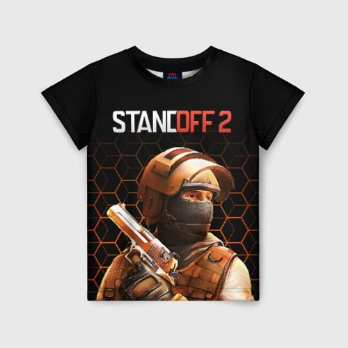 Детская футболка 3D STANDOFF 2|Тройники| | АлиЭкспресс