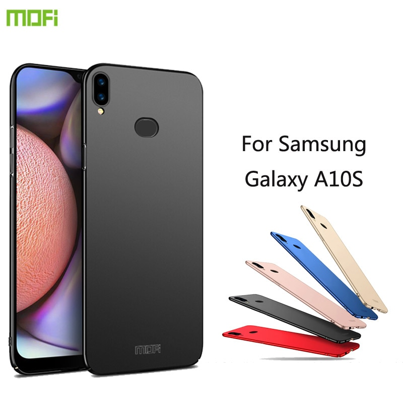 Para samsung galaxy a10s caso mofi duro capa de proteção de luxo para samsung galaxy a10s capa de telefone
