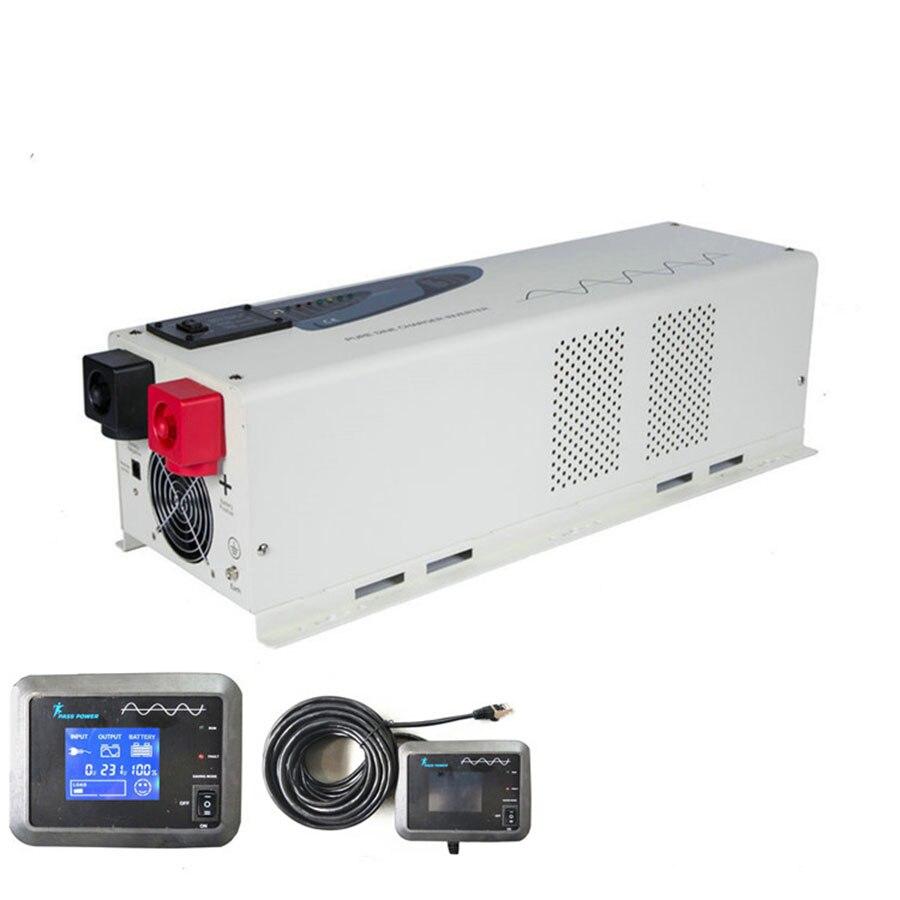 high efficiency dc to ac home 5kw solar pump power inverter 24v 48v 220v 230v 240v 5000w