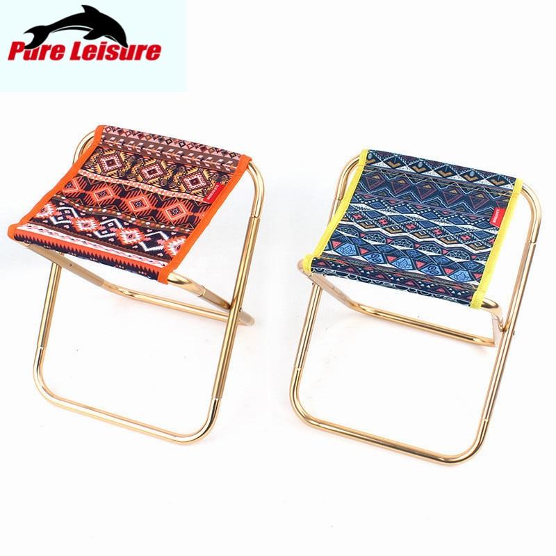 PureLeisure уличные стулья для рыбалки из алюминиевого сплава складной легкий