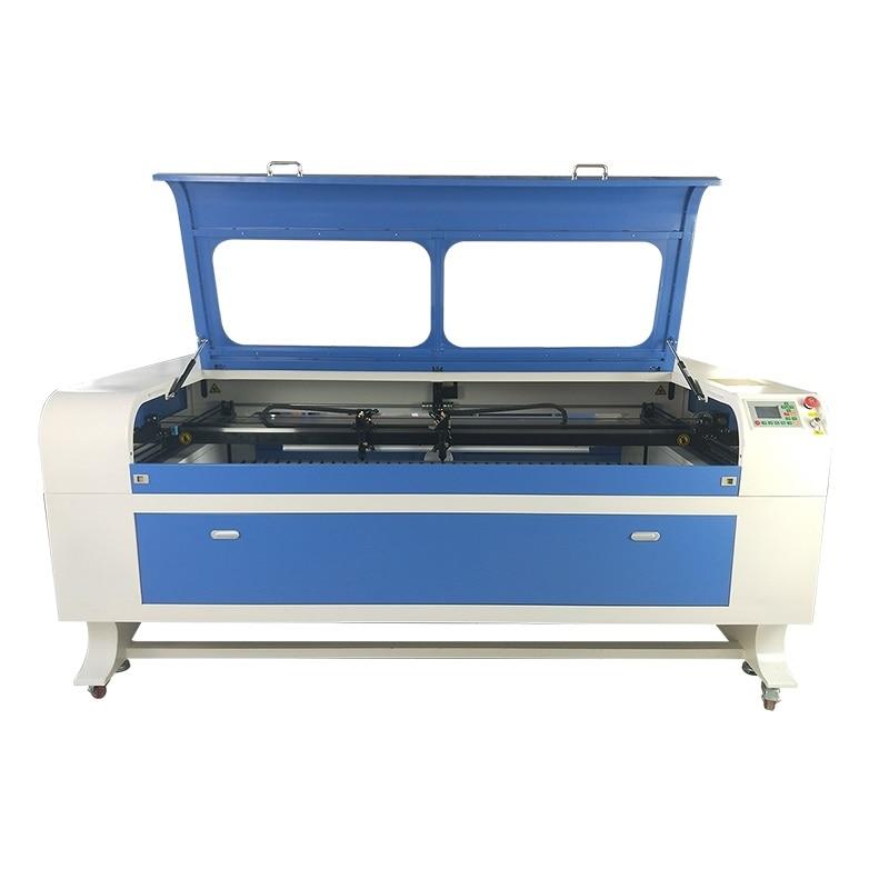 Bois acrylique cadeau faisant/cuir tissu logo coupe co2 1610 1810 CNC laser machine de découpe 150w à vendre avec CE FDA