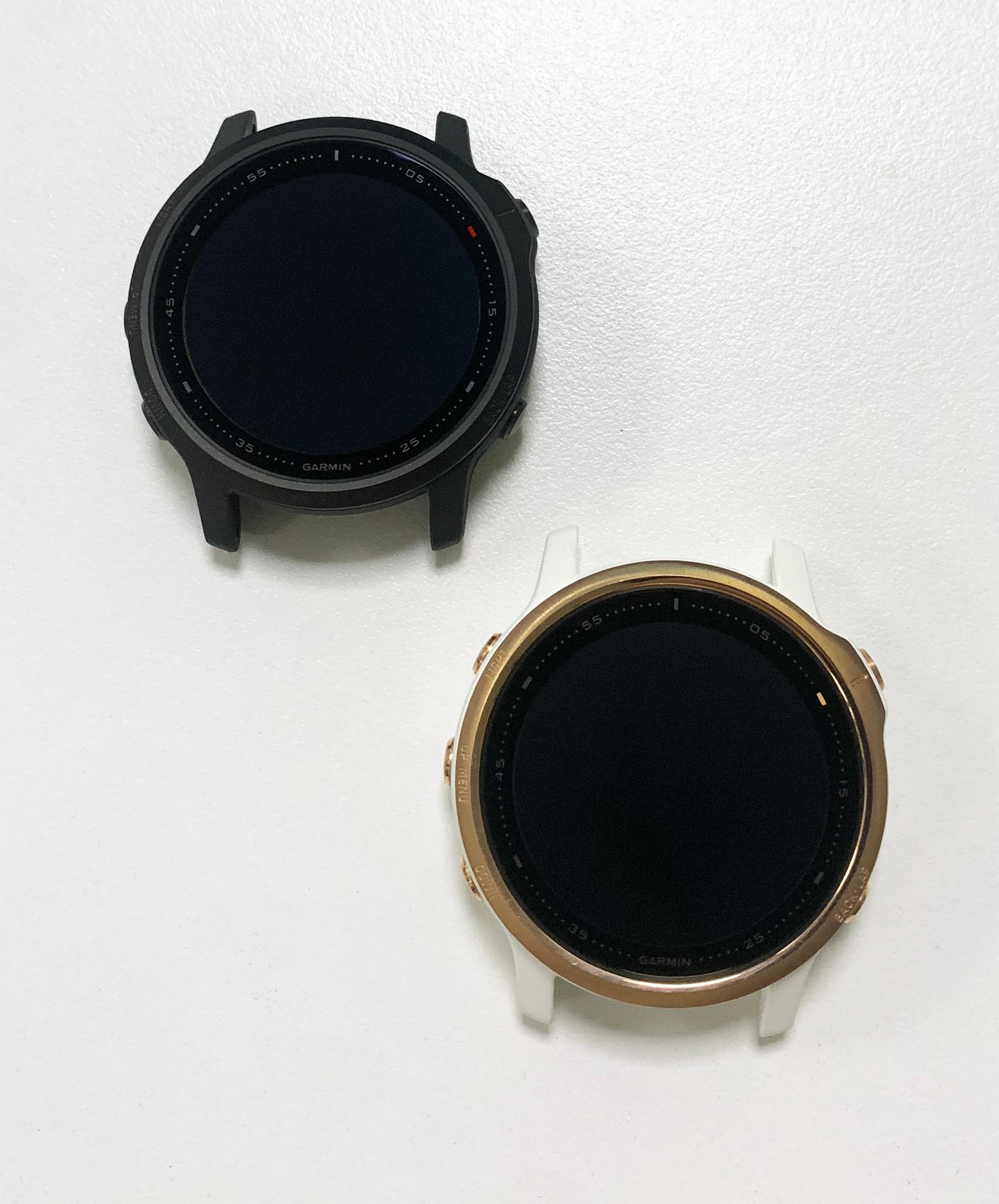 الأصلي ل Garmin Fenix 6S برو LCD شاشة الجمعية ساعة شاشة الكريستال السائل Fenix6SPro الذكية اللمس محول الأرقام إصلاح استبدال أجزاء