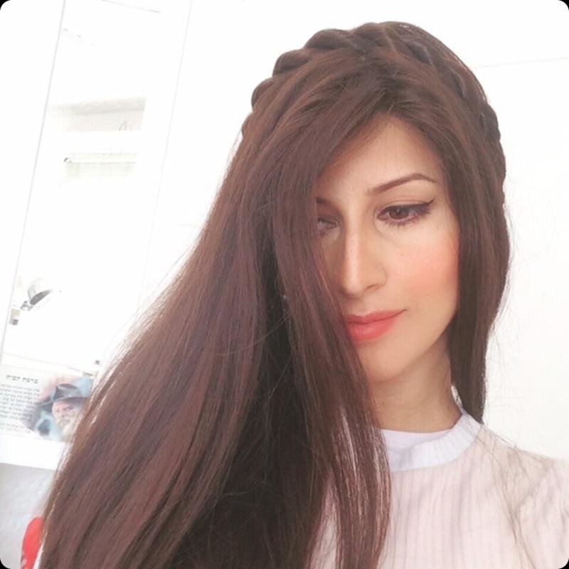Stock de cabello humano, banda de encaje Popular Iband para peluca judía Kosher, Peluca de pelo humano, empuñaduras de peluca
