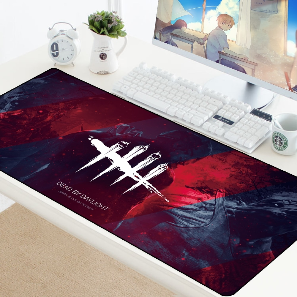 Dead by Daylight Gaming Mouse Pad Computer Accessories Mousepad Keyboard PC Pad Game Gamer Notbook P