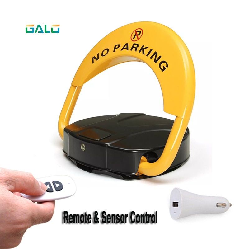 Support wholesale prices Automatic Remote Control Parking Lock with Car cigarette lighter converter