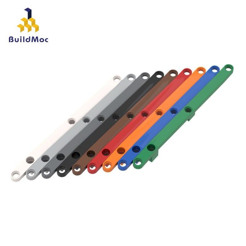 BuildMOC Compatible Assembles Particles 2636 (59807) 1x16 boom Building Blocks Parts DIY LOGO Educational gift Toys