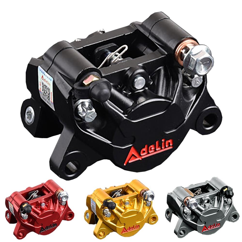 Adelin ADL-17 دراجة نارية تعديل دراجة نارية الكهربائية محول قوس مزدوجة مكبس الفرامل الفرجار ل WISP RSZ ياماها