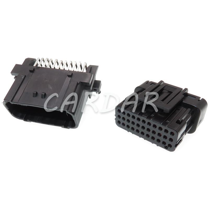 1 Set 33 Pin Automotive ECU Module Socket Auto Connector