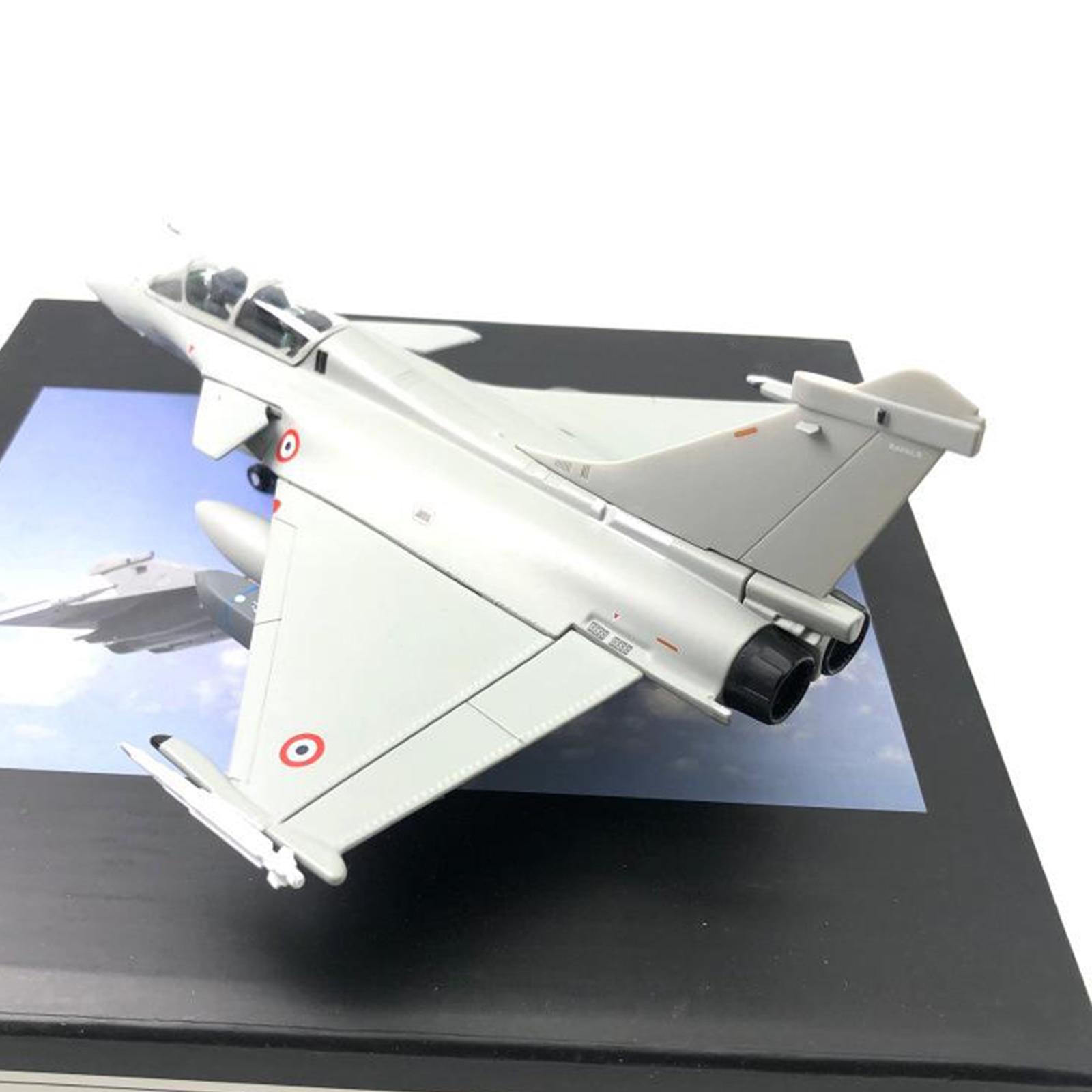 1/72 ölçekli Dassault Rafale Fighter Metal Model uçak ev dekorasyon