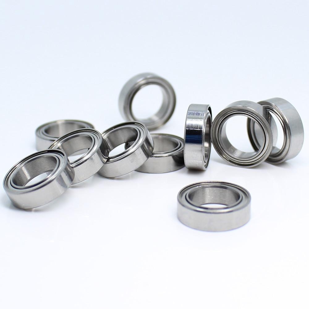 MR128ZZ Ball Bearing 8x12x3.5 mm 10Pcs ABEC-5 Miniature Metric Chrome Steel L-1280ZZ W678ZZA MR128 Z ZZ Bearings MR128Z