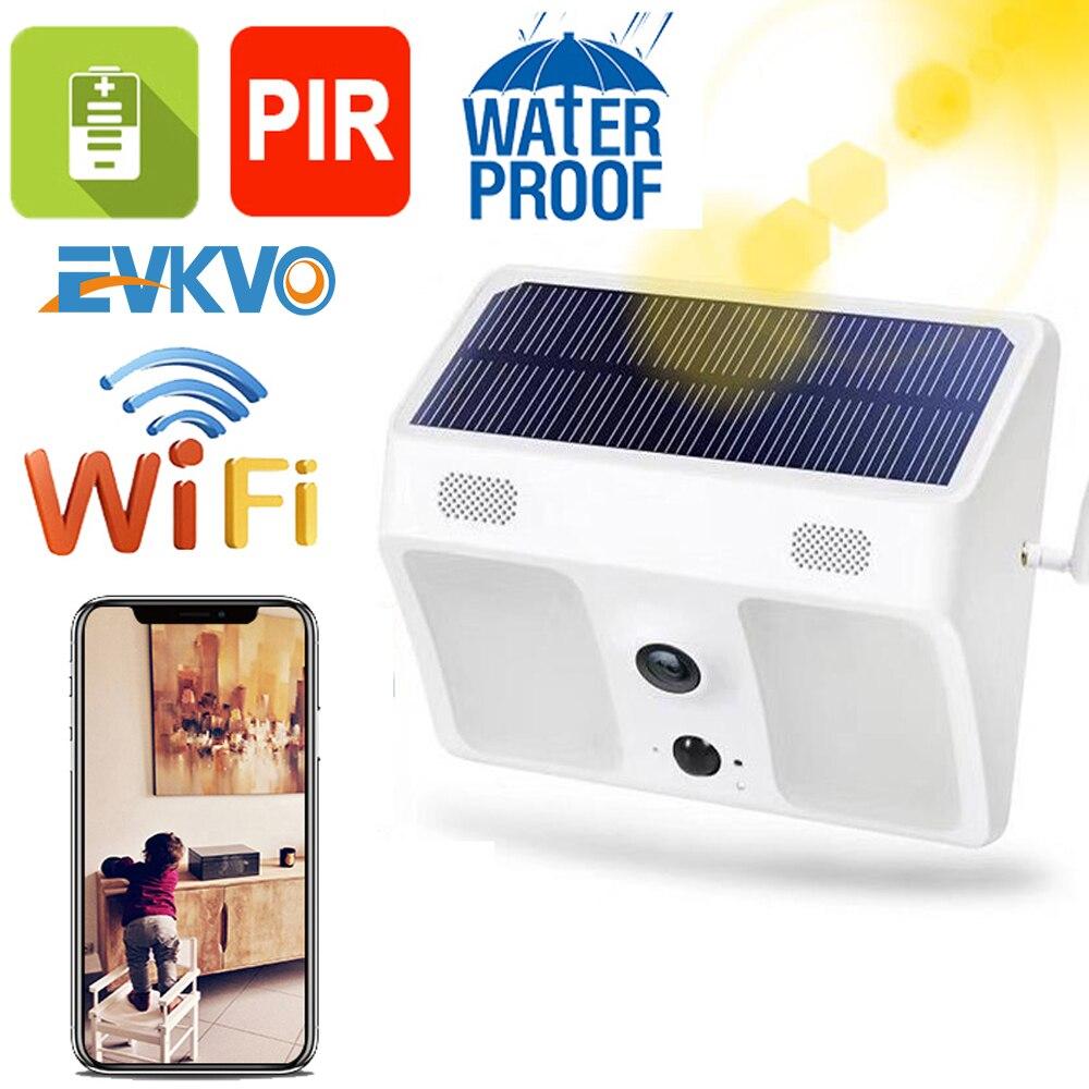 3MP IP67 Waterproof Solar Powered Bat-tery Security Camera Motion Sensor Wall Light Surveillance Camera for Garden Patio Yard