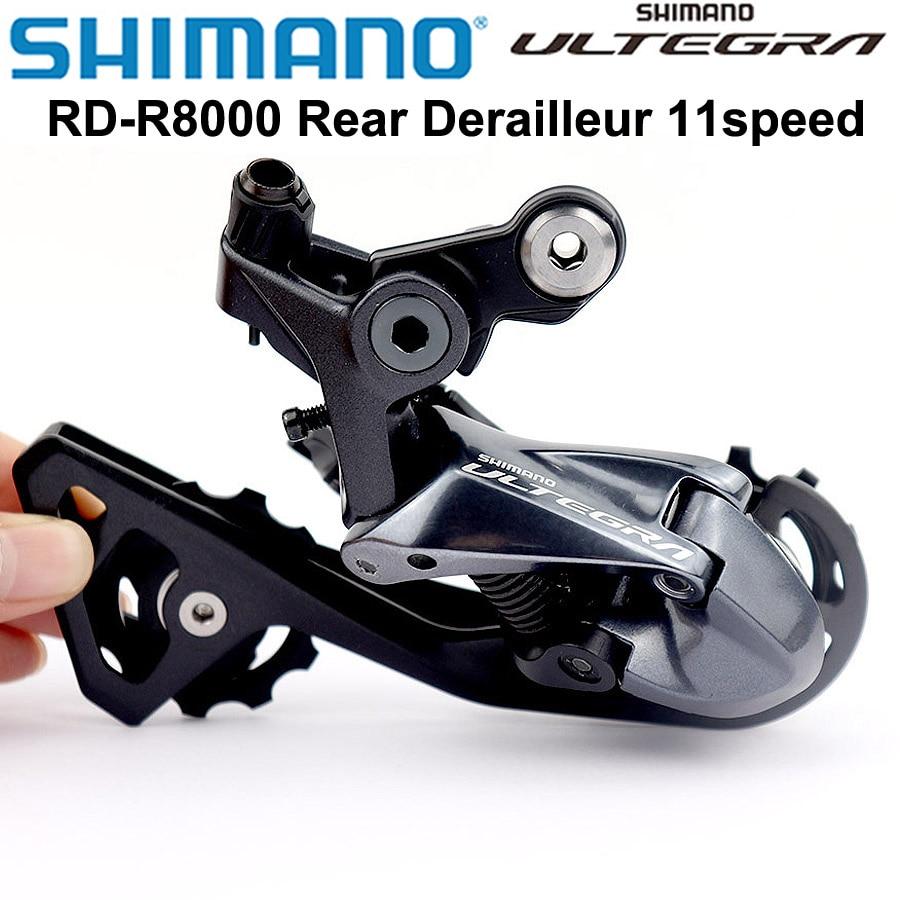 Shimano Ultegra R8000 RD-R8000 الخلفية Derailleur الدراجة الطريق دراجة R8000 11 سرعة الخلفية Derailleur SS/GS قصيرة قفص/متوسطة قفص