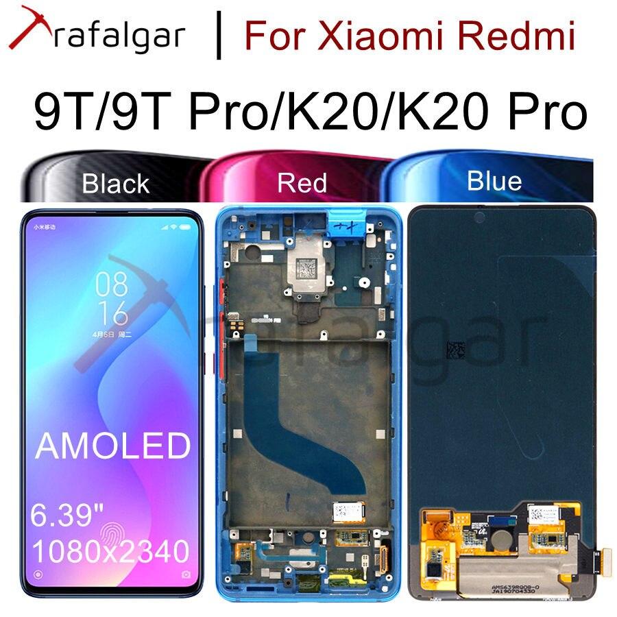 Pantalla Original para Xiaomi Mi 9T Pro pantalla LCD Redmi K20 Pro pantalla táctil para Xiaomi 9T pantalla con reemplazo de Marco