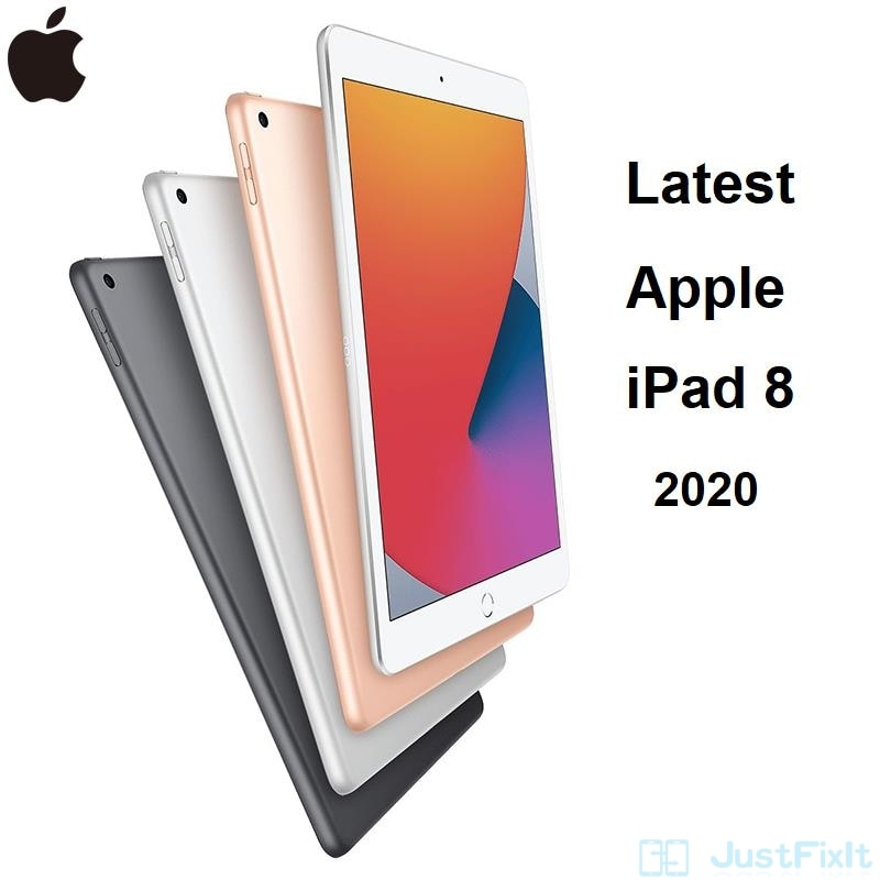 "New Apple iPad 8th 2020 A12 Bionic Chip 10.2"" Retina Display 32/128G Thin Slim IOS Tablet WiFi/Cellular"