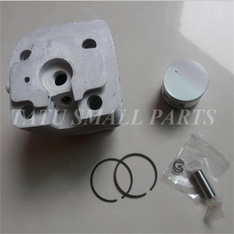 Fs450 cilindro kit 42mm para stihl fs400 fh480 fr450 sp400 fs451 zylinder pistão anel clipe montagem 41280201211 frete grátis