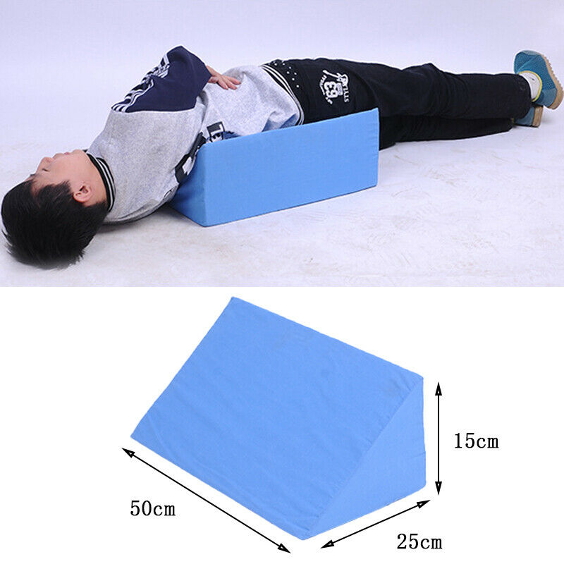 Fashion Brand New Hot Sales Acid Reflux Foam Bed Wedge Pillow Elevation Cushion Back Leg Lumbar Support