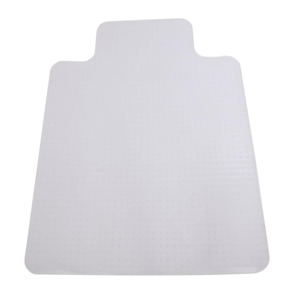 Non Slip Dining Chair Pads With Nail 90 X 120 X 0.2cm PVC Home-use Protective Mat For Floor Chair Transparent #4W