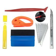 5 шт./компл. автомобильный виниловый скребок для пленки скребок Инструменты для установки наклеек в транспортном средстве нож для стайлинга автомобиля автомобильные аксессуары
