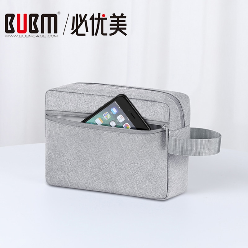 BUBM Digital storage bag Organizer, Hard Drive Bag, Portable USB Cable Earphone Bag Power Bank Travel Kit Case