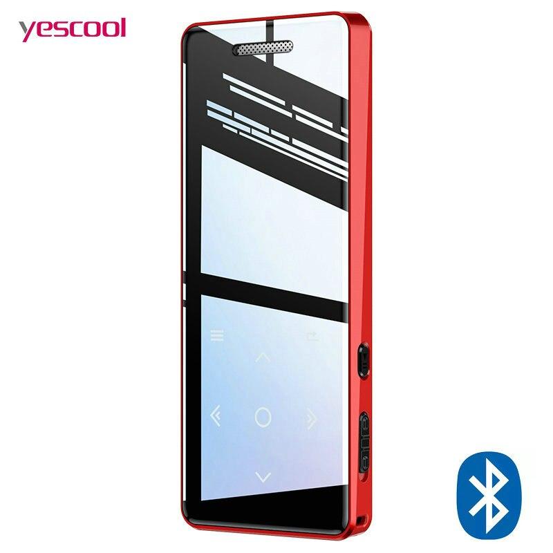 MP3 Player bluetooth Speaker touch screen hi fi fm radio mini USB mp3 sport MP 3 HiFi music player portable metal walkman 8gb