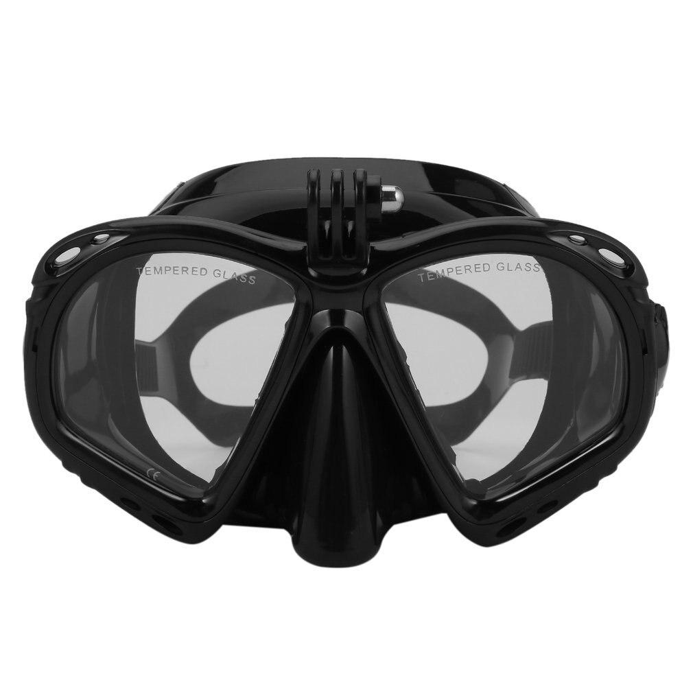 Профессиональное Силиконовое снаряжение, маска для подводного плавания, снаряжение для подводного плавания, незапотевающие УФ водонепрон...
